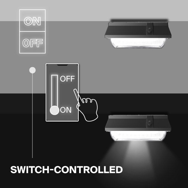 Probrite Helios50 LED Ceiling Light Switch Controlled