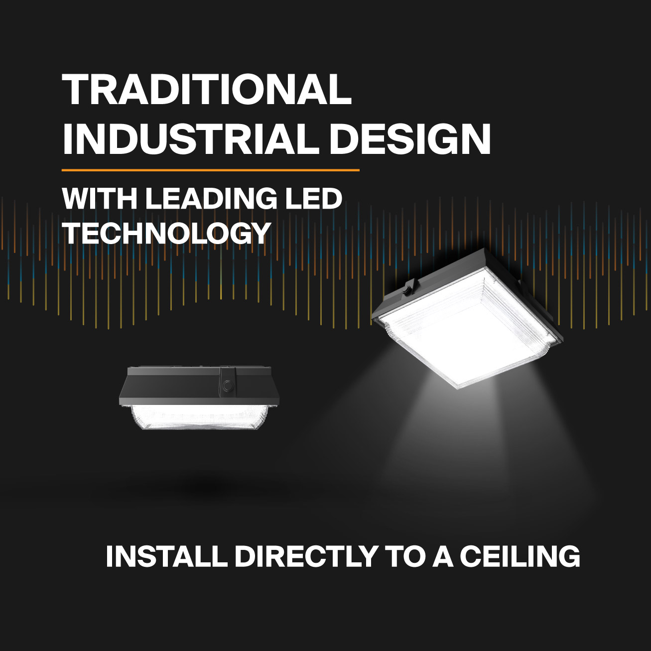 Probrite Helios50 LED Ceiling Light Integrated LEDs