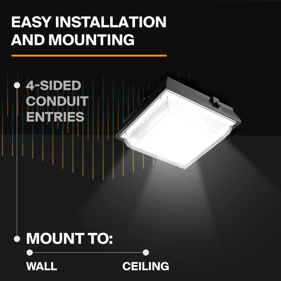 Probrite Helios50 LED Ceiling Light Mounting Applications