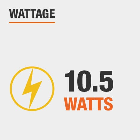 10.5 Watts
