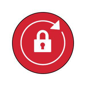 Autolocking icon.