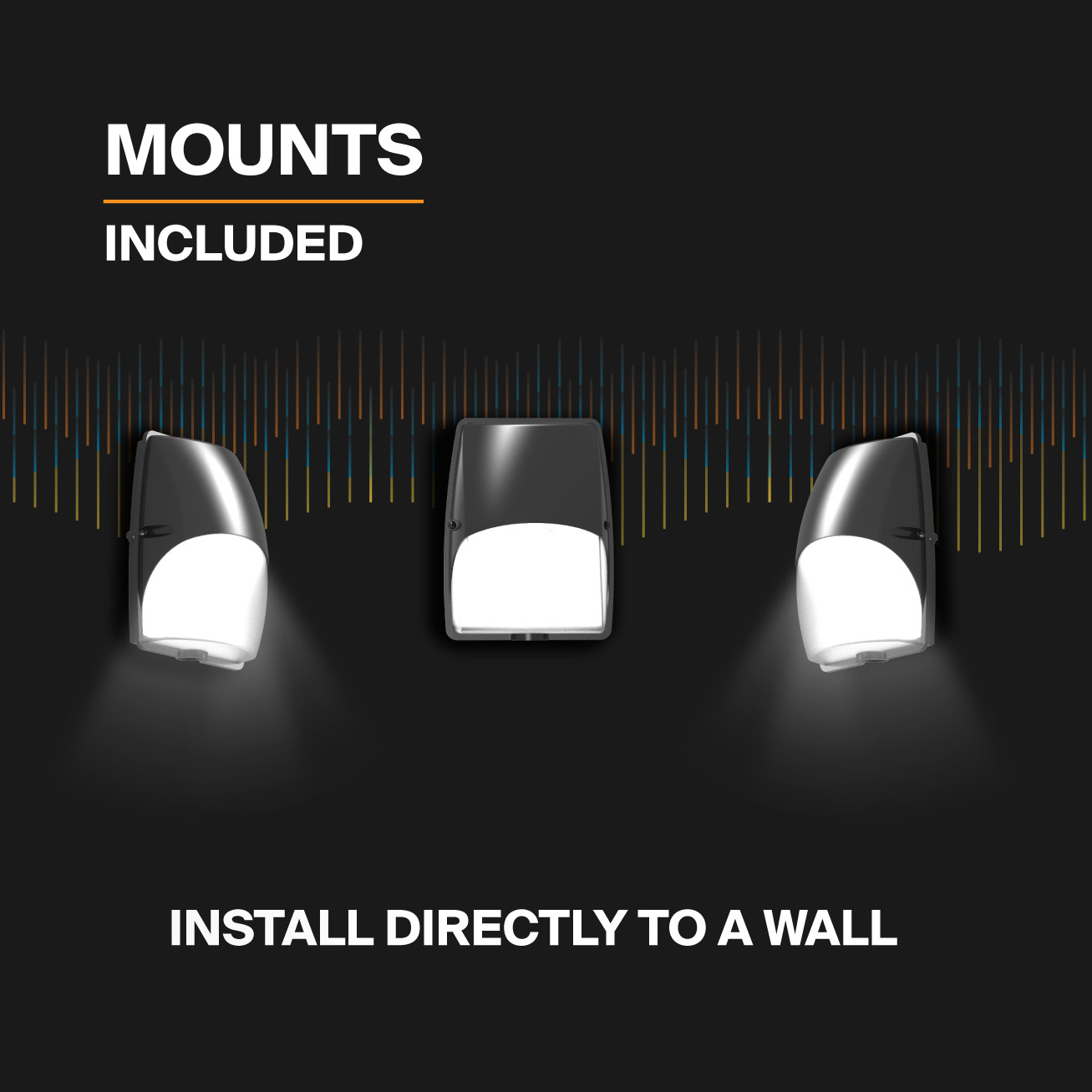 Probrite LUNA20 LED Wall Pack Install to Wall