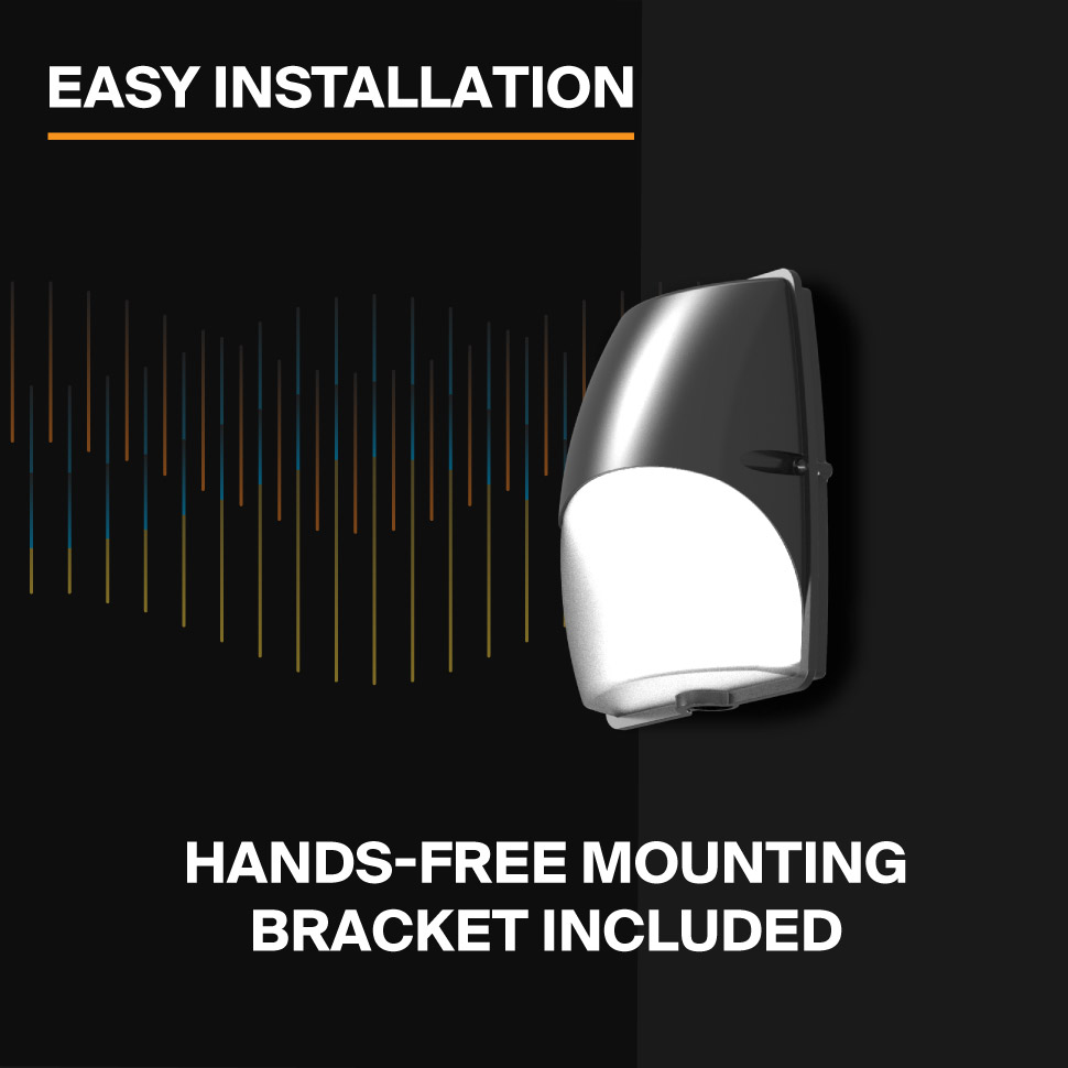Probrite Luna20 LED Wall Pack Easy Installation