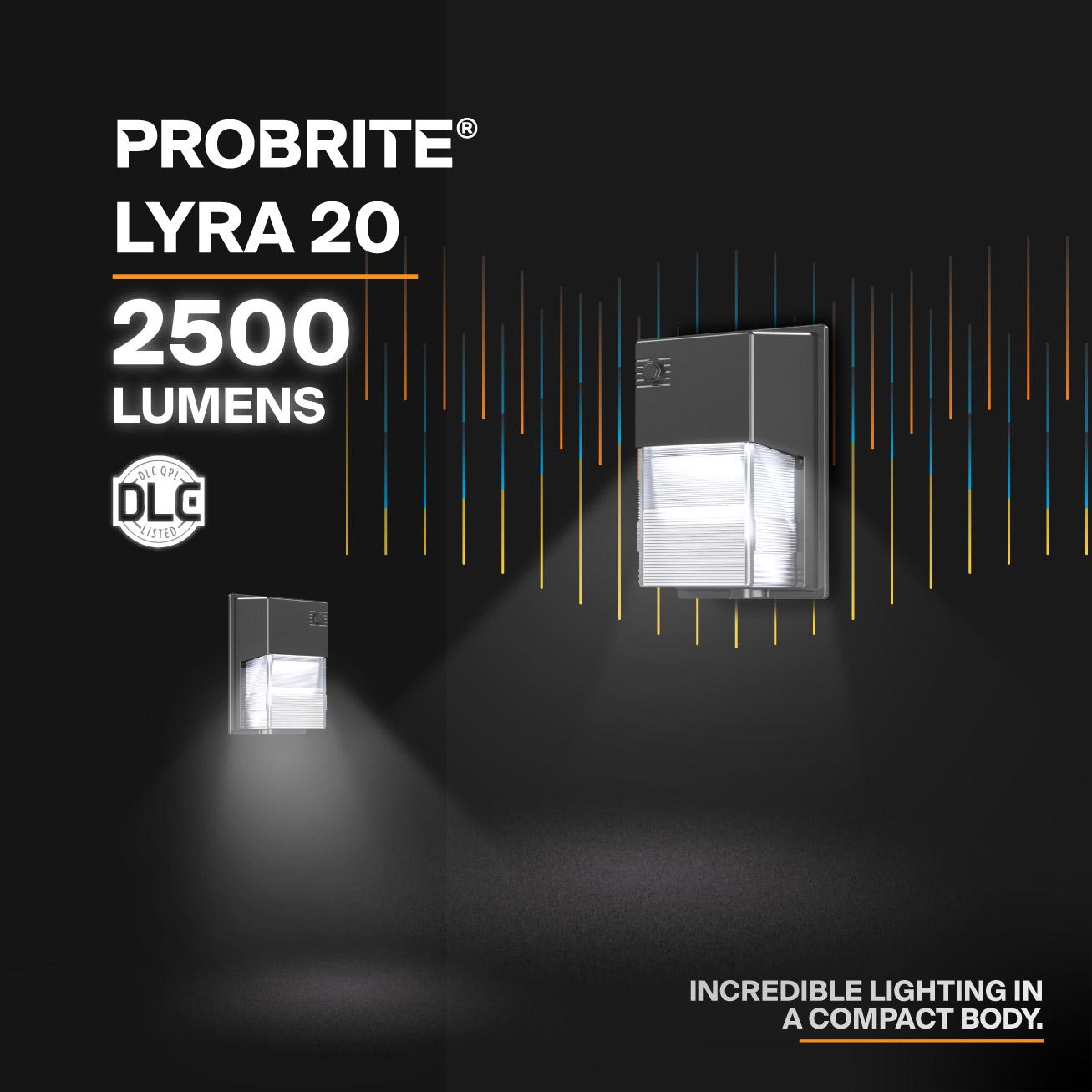 Probrite Lyra20 LED Wall Pack Incredible Lighting
