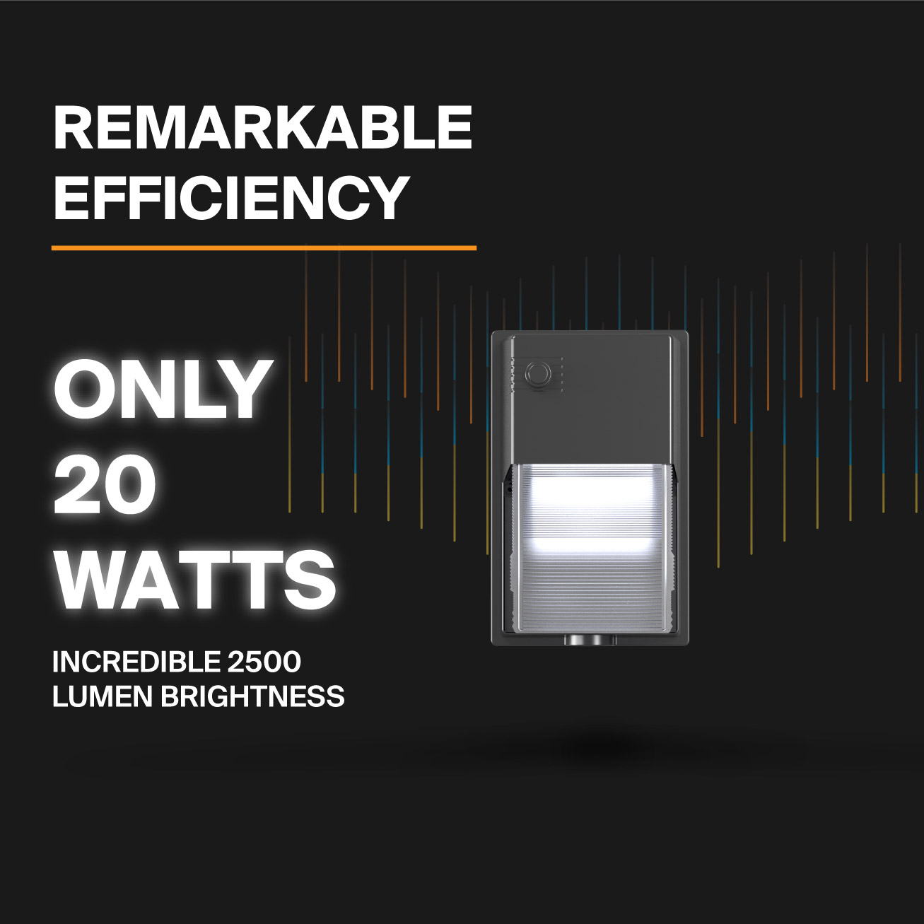 Probrite LYRA20 LED Wall PAck Efficient