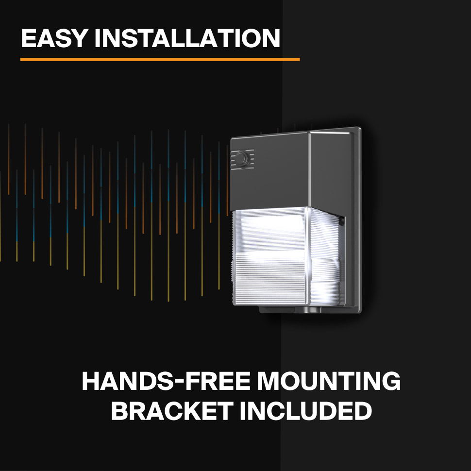 Probrite LYRA20 LED Wall Pack Easy Installation