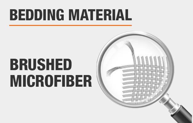 Brushed Microfiber Bed Sheets