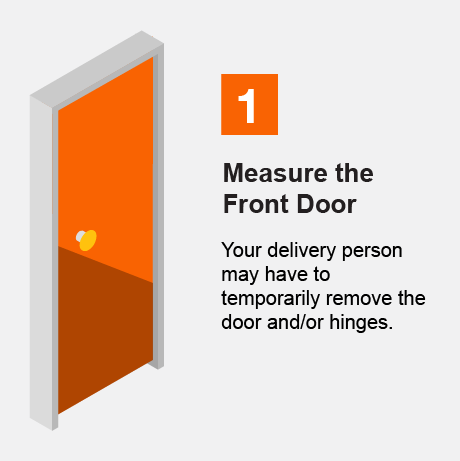 Measure the Front Door
