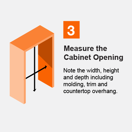 Measure the Cabinet Opening