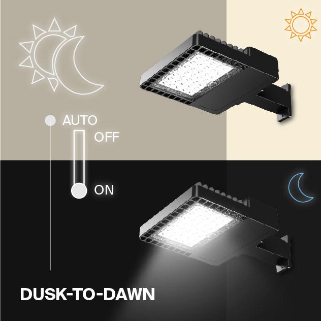 Probrite NOVA100 LED Area Light Dusk to Dawn Outdoor Light
