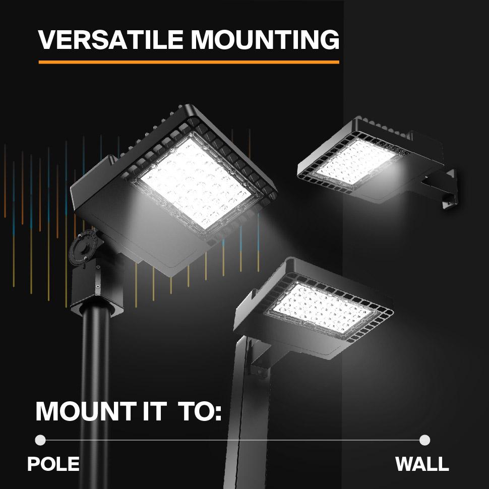 Probrite NOVA100 LED Area Light Versatile Mounting