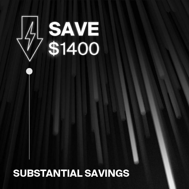 Probrite NOVA100 LED Area Light Energy Savings