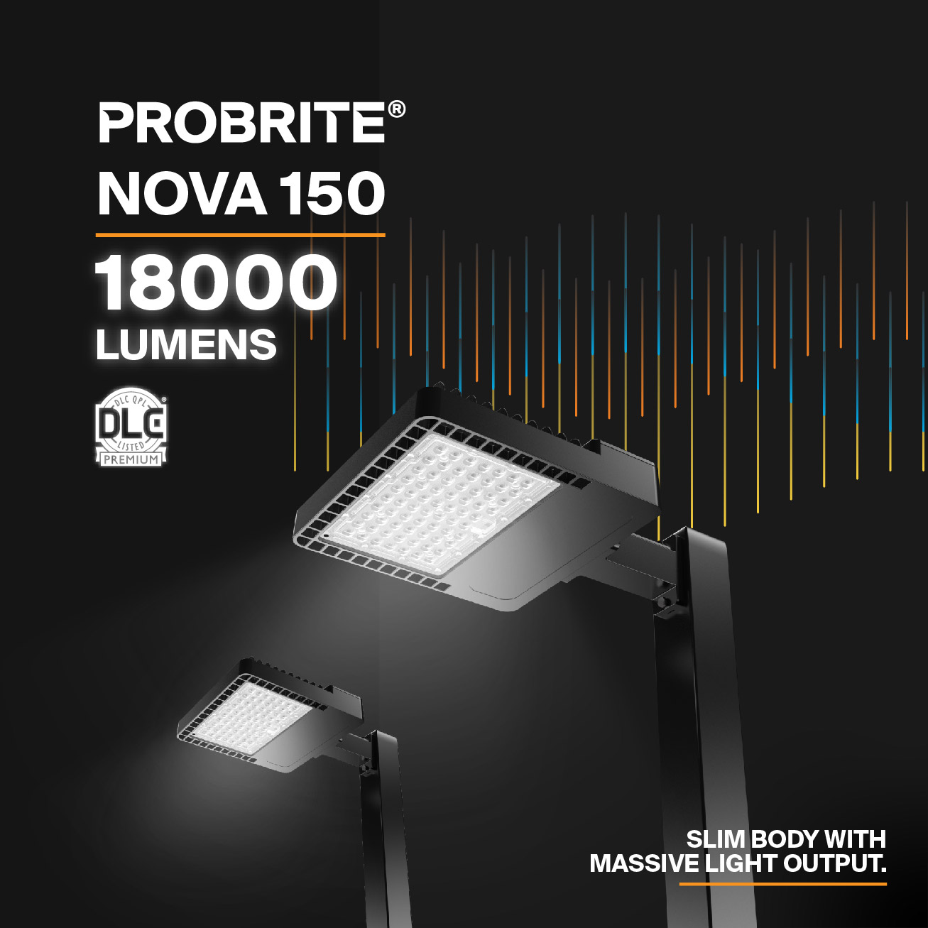 Probrite NOVA150 LED Area Light High-Output