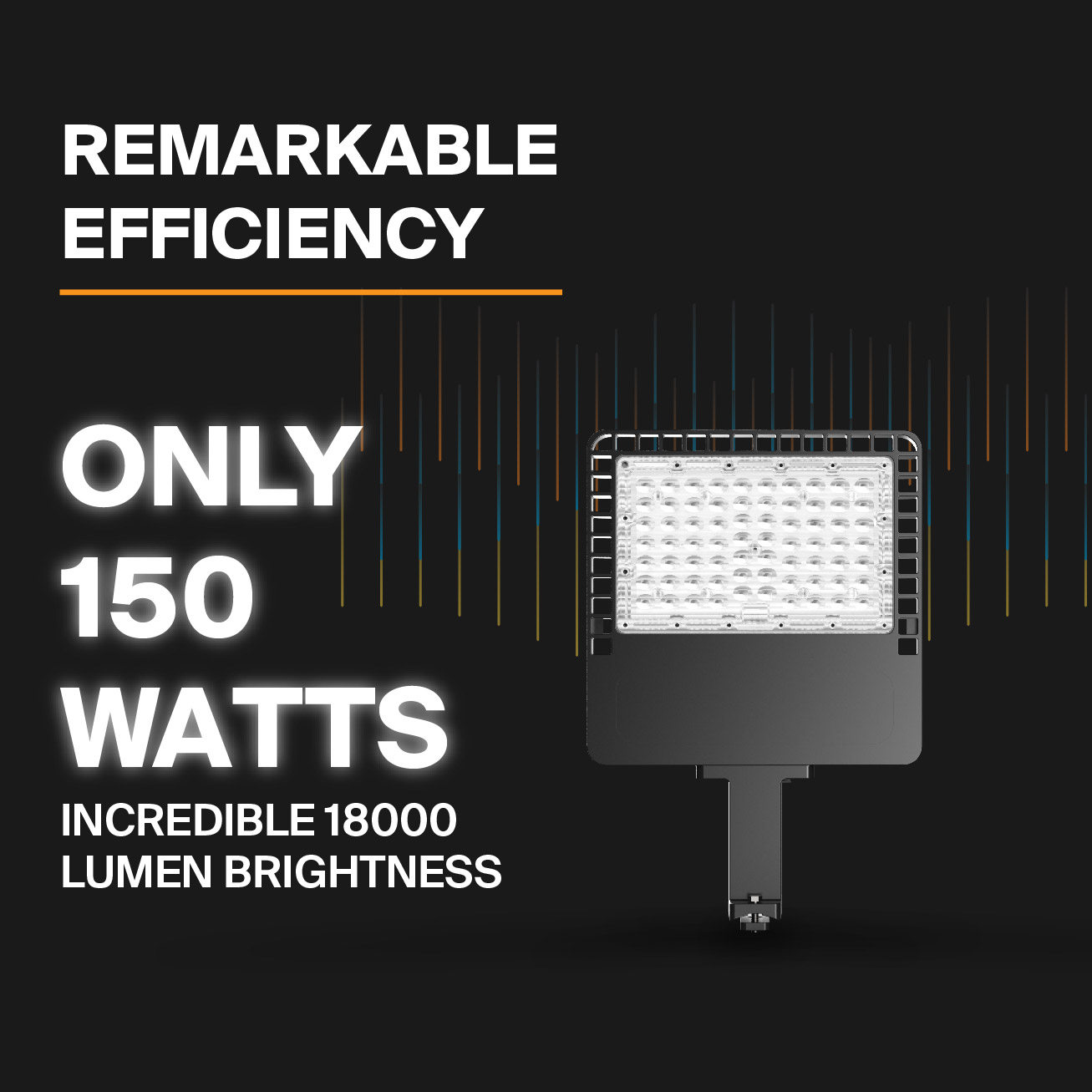 Probrite NOVA150 LED Area Light Efficient