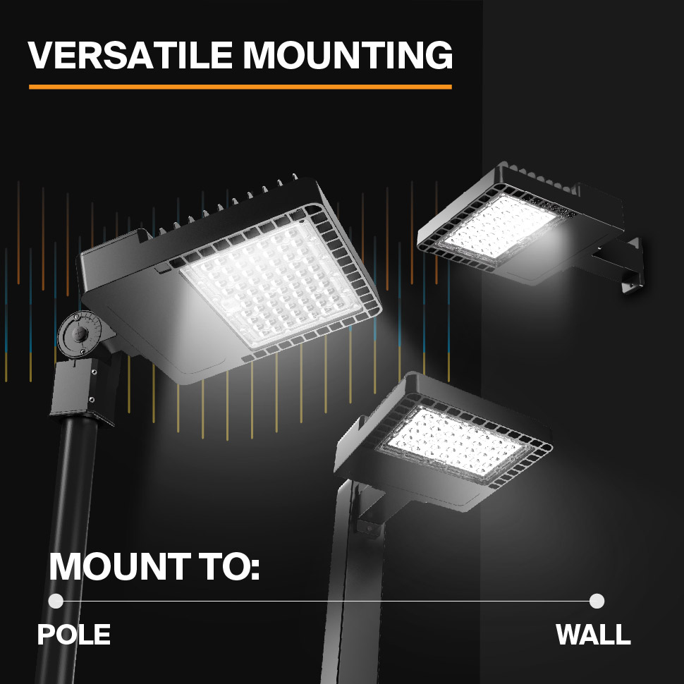 Probrite NOVA150 LED Area Light Versatile Mounting