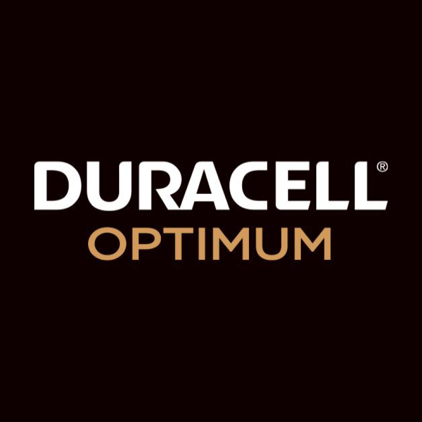 Logo of Duracell Optimum, newest addition to family