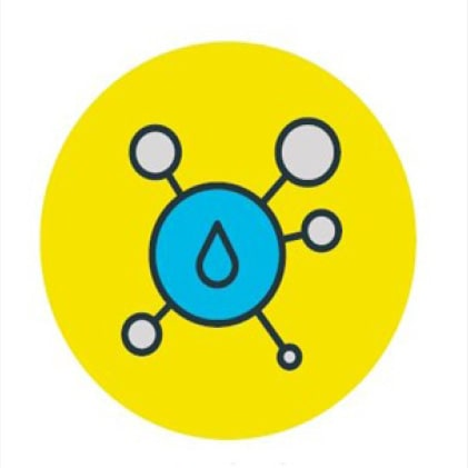 Chlorine Molecule Logo: Certified Level 5 Chlorine Resistant for use in domestic hot and cold plumbing applications