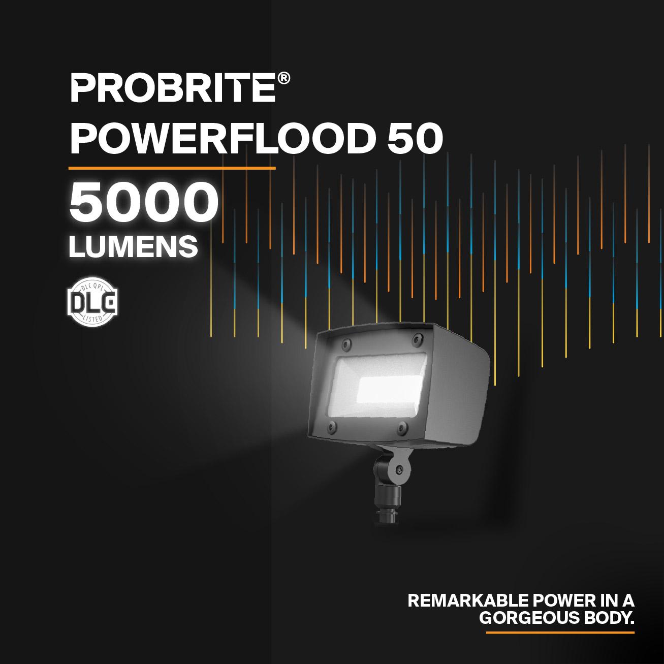 Probrite Powerflood50 LED Flood Light Remarkable Power