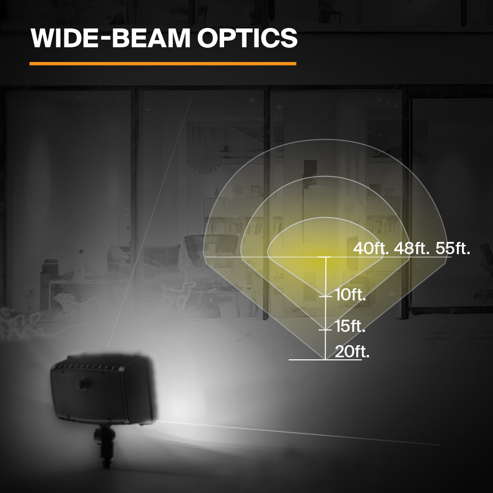 Probrite Powerflood50 LED Flood Light Wide Beam Optics