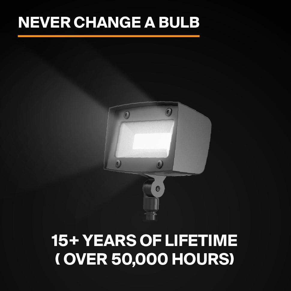 Probrite PowerFlood50 LED Flood Light Never Replace a Bulb