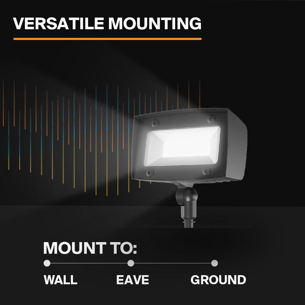 Probrite PowerFlood50 LED Flood Light Versatile Mounting