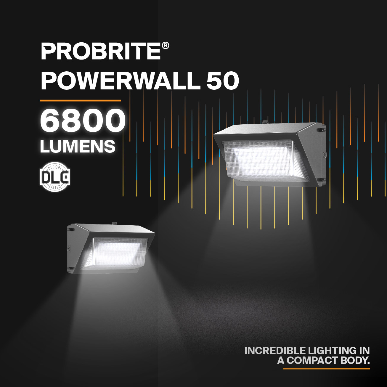 Probrite PowerWall50 LED Wall Pack Powerful