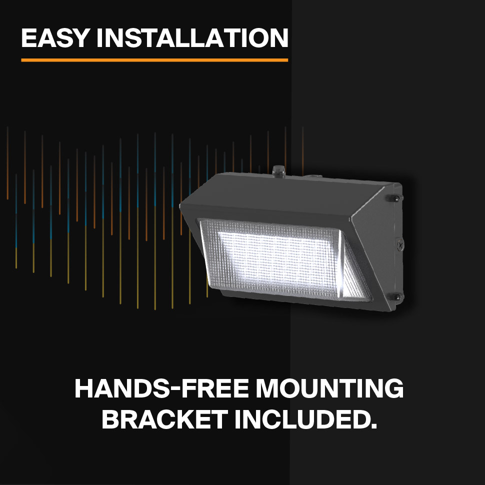 Probrite PowerWall50 LED Wall Pack Easy to Install