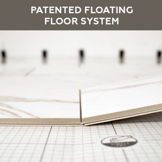 Patented locking flooring system