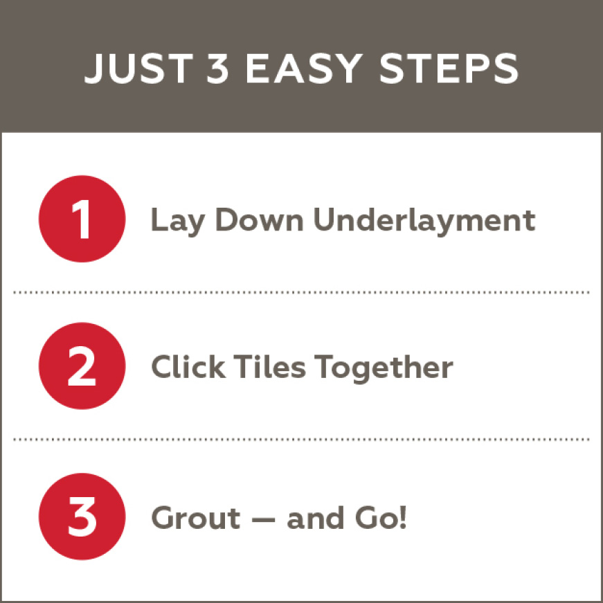 3 Easy steps for QuicTile installation