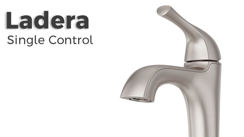 """7 Faucet Finishes For Fabulous Bathrooms: PfISTER Ladera 4"""" Centerset Single-Handle Bathroom Faucet"""