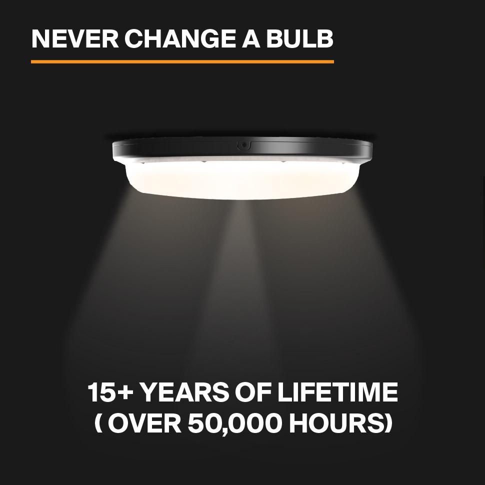 Probrite SOL20 LED Security Light Never Change a Bulb
