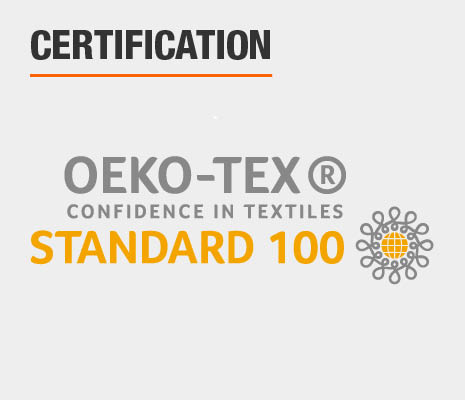 Products with the STANDARD 100 by OEKO-TEX®
