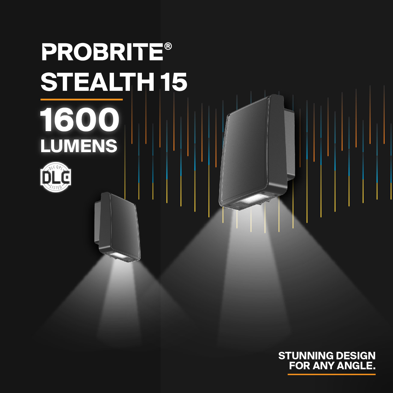 Probrite Sealth15 LED Wall Pack Design and Light