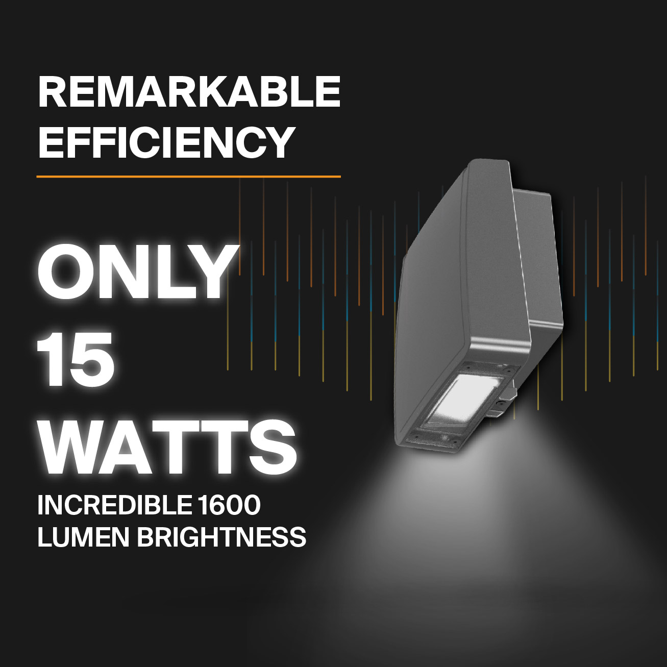 Probrite Stealth15 LED Wall Pack Efficient