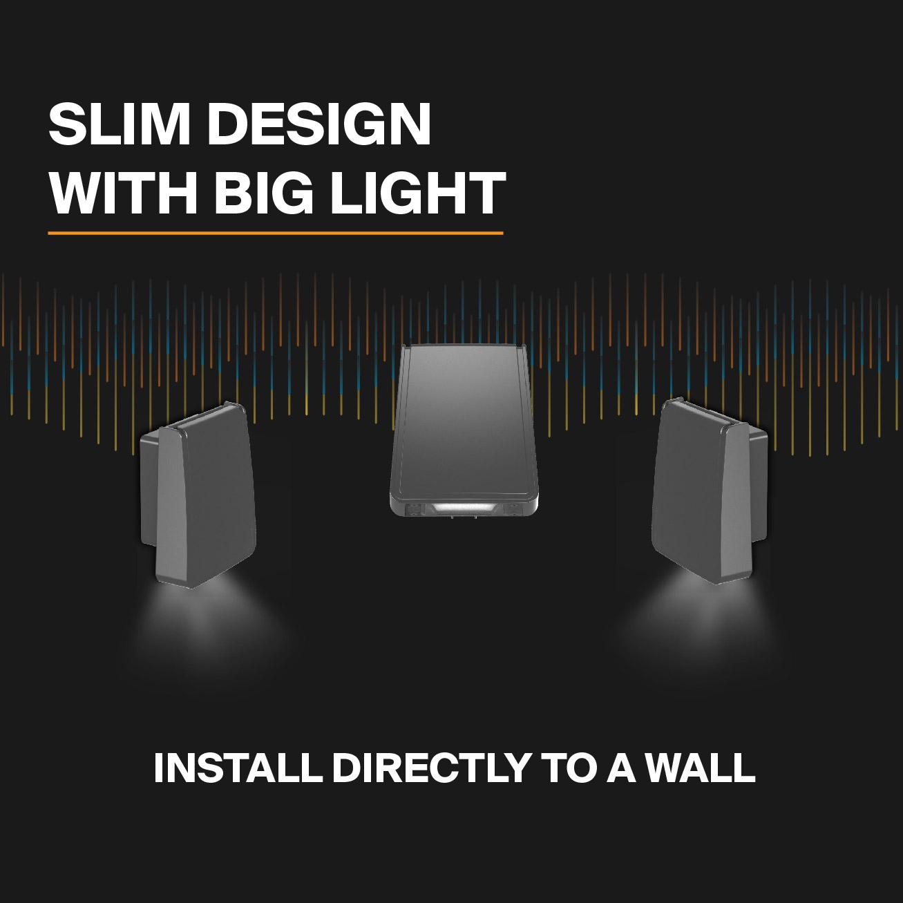 Probrite Stealth28 LED Wall Pack Slim Design