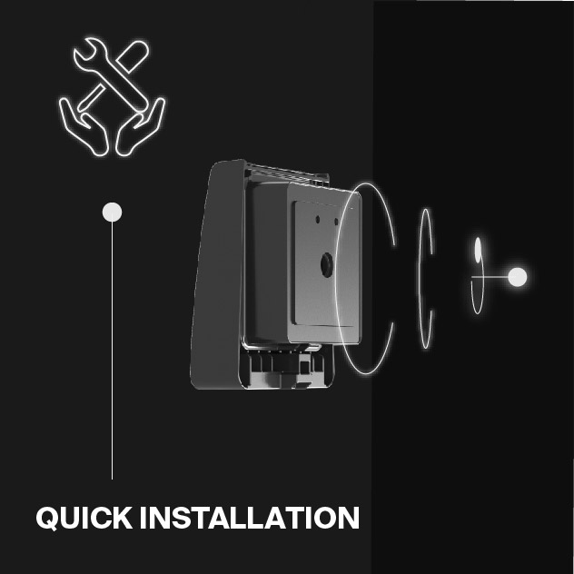 Probrite Stealth28 LED Wall Pack Fast Installation