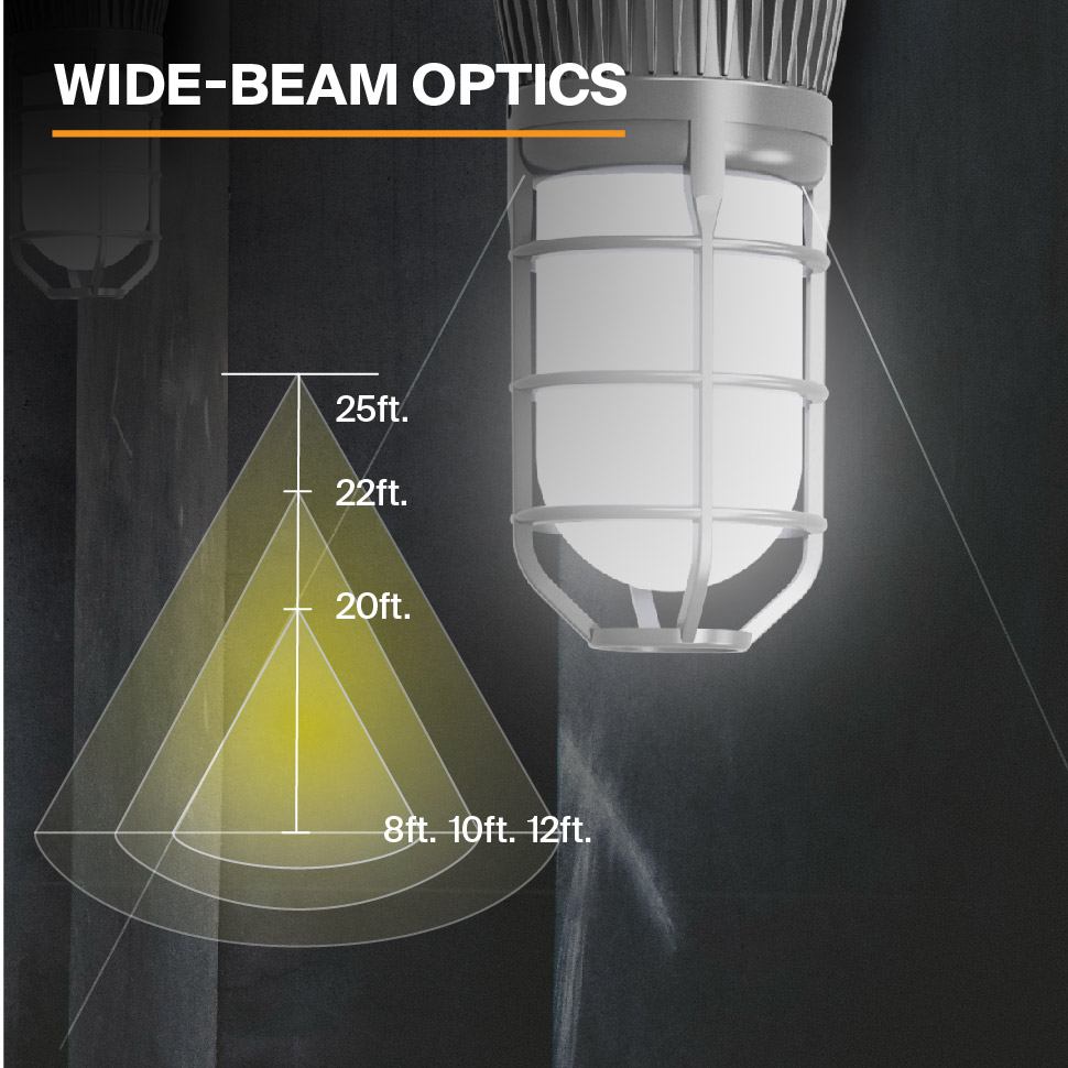 Probrite Vapor14 LED Ceiling Light Wide Beam Optics
