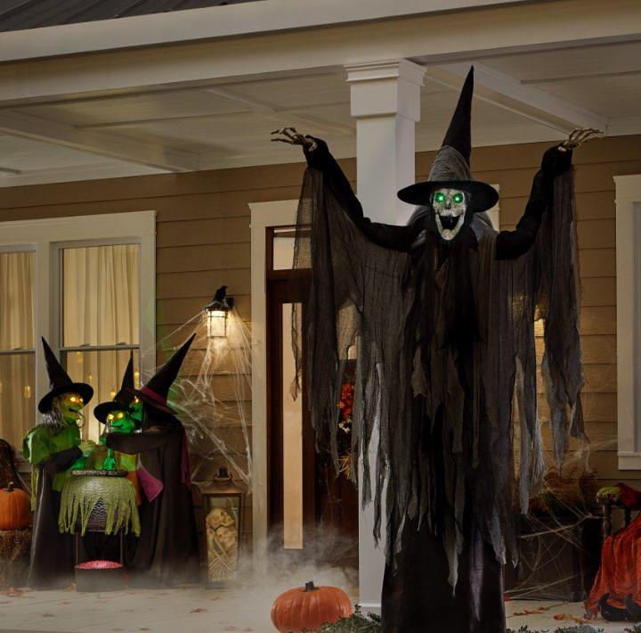 SCARE UP A SPOOKY LOOK. Free Delivery and In-Store Pickup on Halloween Decor Online