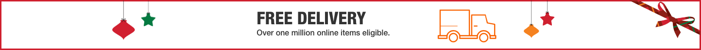 FREE DELIVERY. Over one million online items eligible.