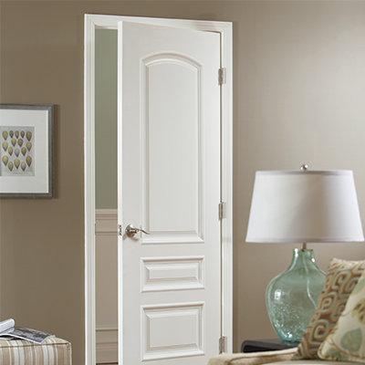interior white slab door & Cost to Install Doors - The Home Depot