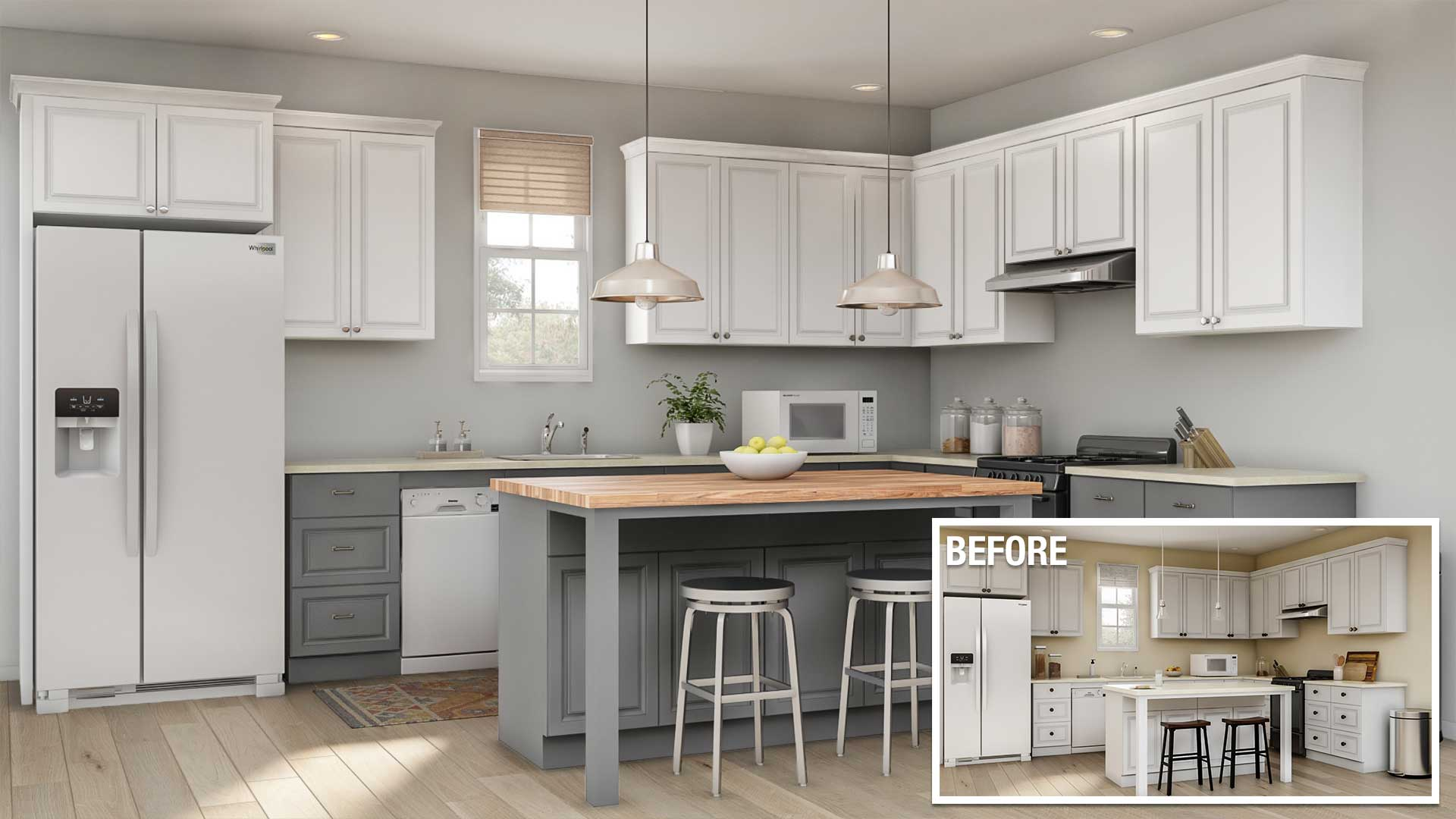 Home Depot Design Ideas: Cost To Remodel A Kitchen