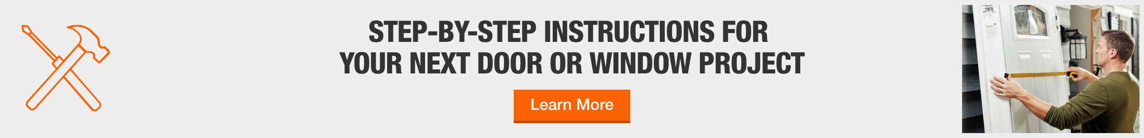 Step-by-step instructions for your next door or window project