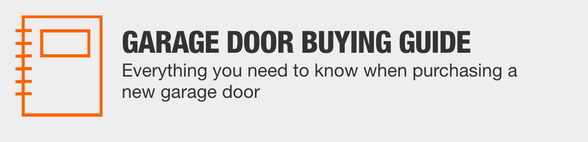GARAGE DOOR BUYING GUIDE - From style and materials to insulation and tech,  we have everything you need to know when purchasing a new garage door