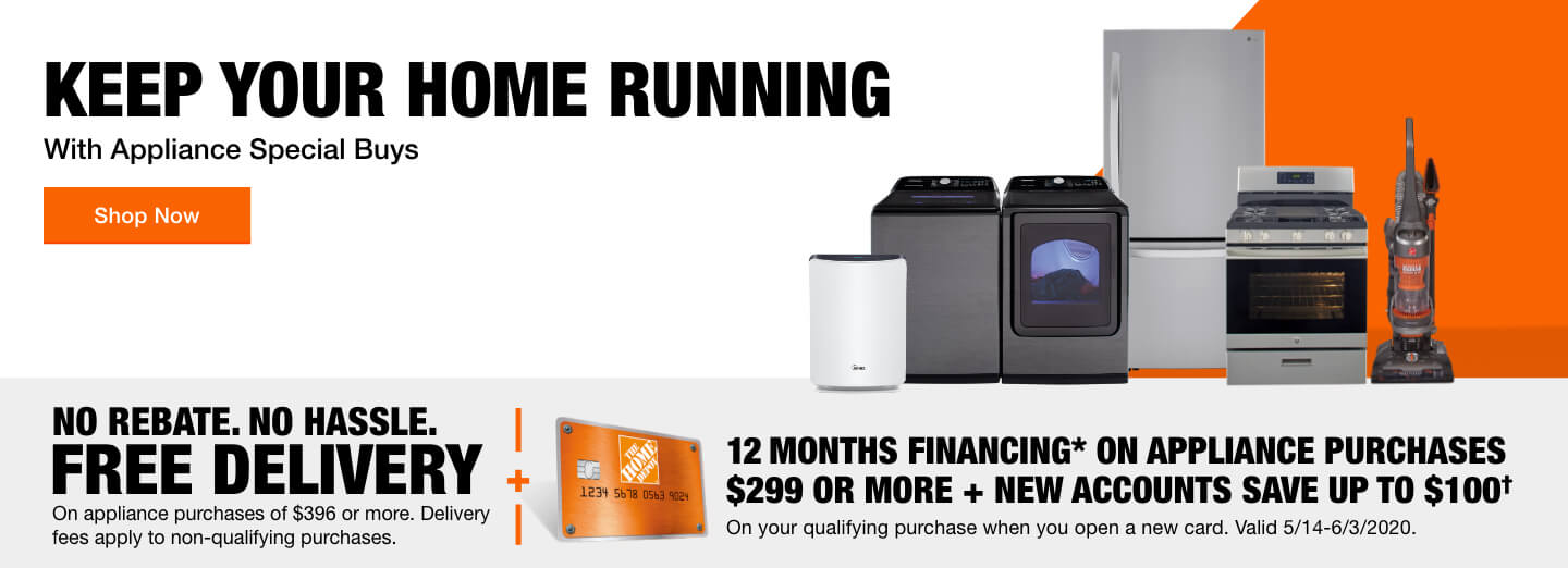 Keep Your Home Running with Appliance Special Savings