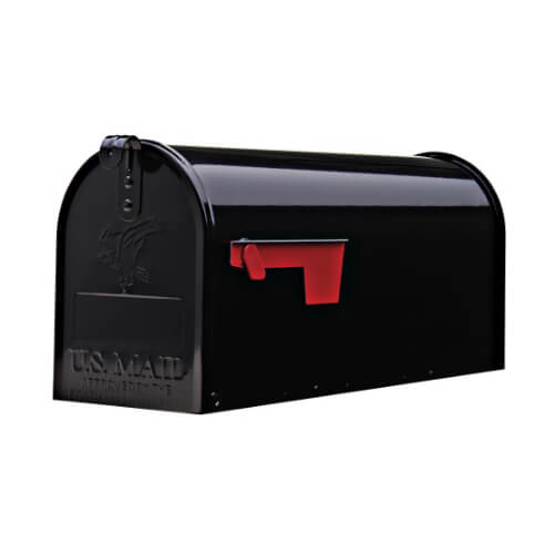 black mail box