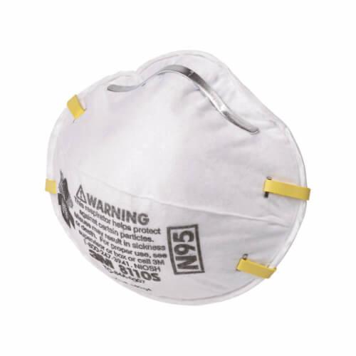 white N95 respirator mask