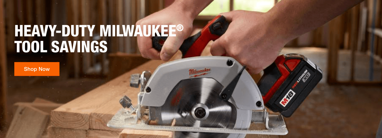 Heavy-Duty Milwaukee Tool Savings