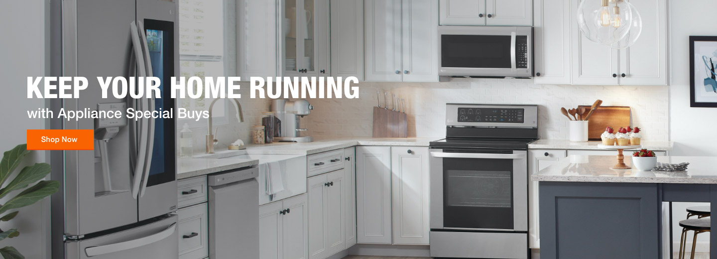Keep Your Home Running with Appliance Special Buys Savings