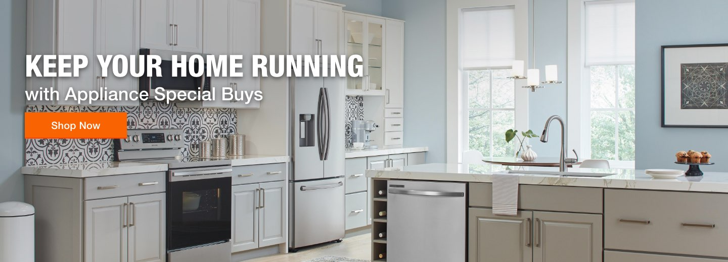 Keep Your Home Running with Appliance Special Buys
