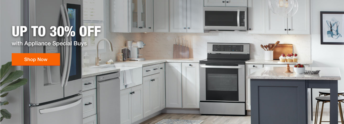 Up to 30% Off. with Appliance Special Buys